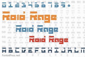 Roid Rage Font