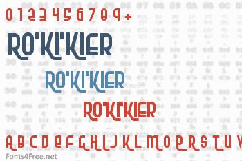 RoKiKier Font