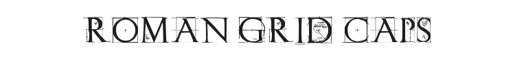 Roman Grid Caps