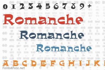 Romanche Font
