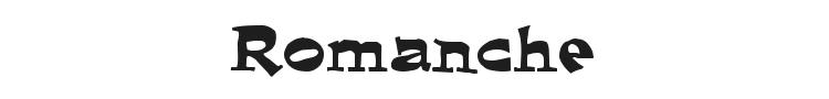 Romanche Font Preview
