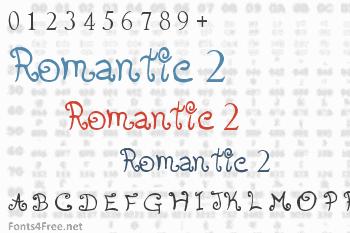 Romantic Font 2 Font