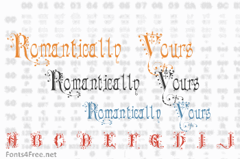 Romantically Yours Font