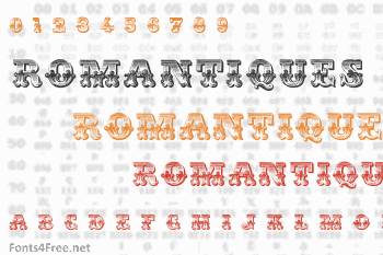 Romantiques Font