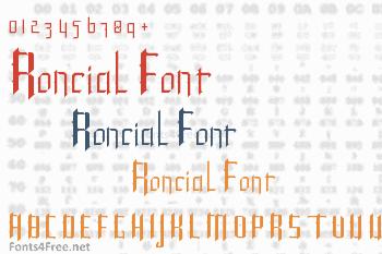 Roncial Font