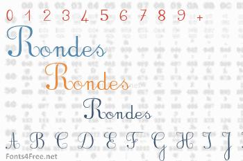 Rondes Font