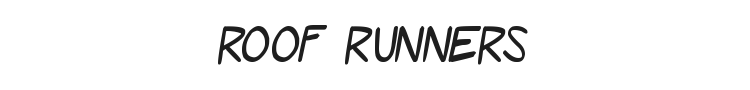Roof Runners Font Preview