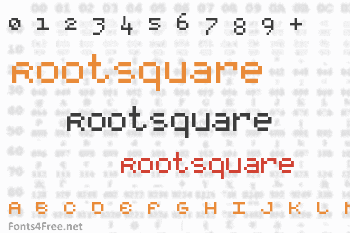 RootSquare Font