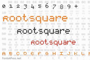 RootSquare Font