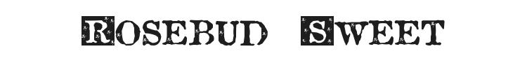 Rosebud Sweet Font