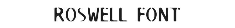 Roswell Font