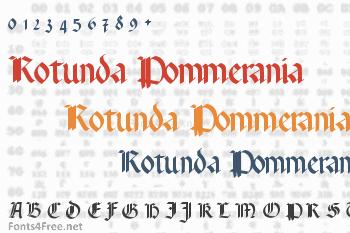 Rotunda Pommerania Font