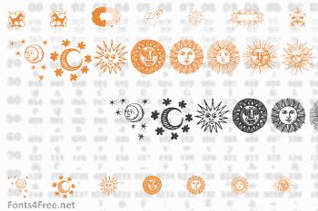 Rough Ornaments Free Font