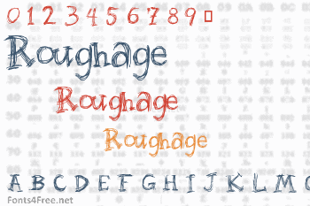 Roughage Font