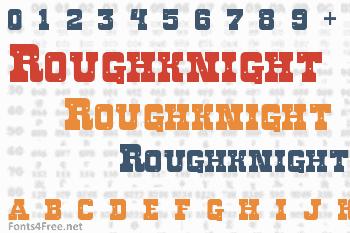 Roughknight Font