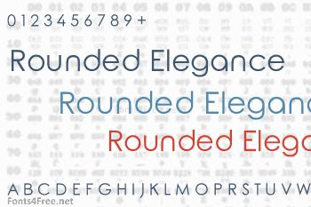 Rounded Elegance Font