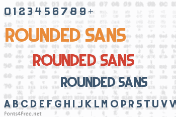 Rounded Sans Font