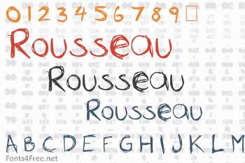 Rousseau Font