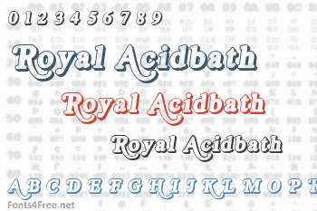 Royal Acidbath Font