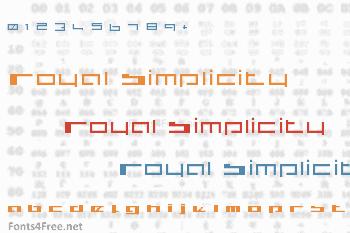 Royal Simplicity Font