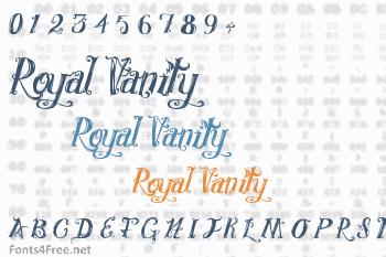 Royal Vanity Font