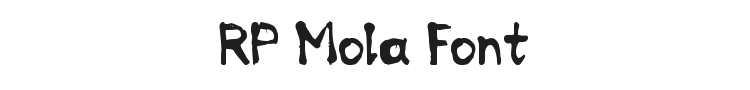 RP Mola Font Preview
