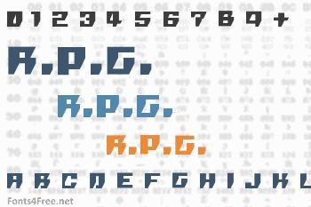 R.P.G. Font