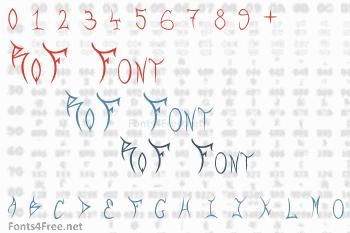 RqF Font