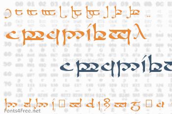 RS Moroma Font