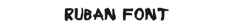 Ruban Font