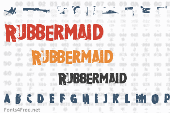 Rubbermaid Font