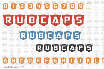 RubCaps Font