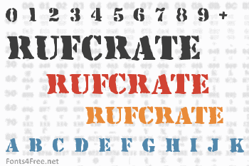 RufCrate Font