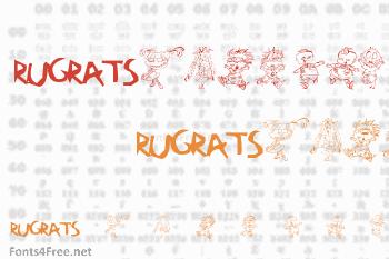RugBats Font