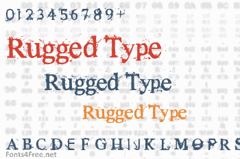Rugged Type Font
