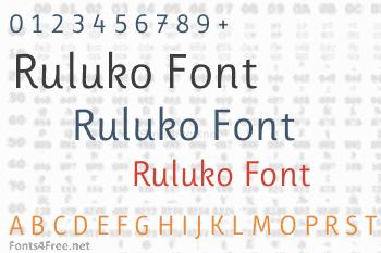 Ruluko Font
