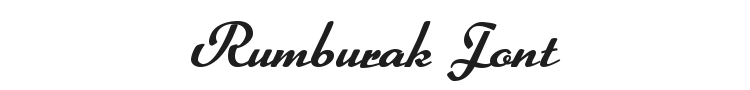 Rumburak Font Preview