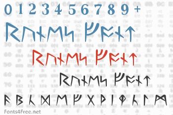 Runes Font