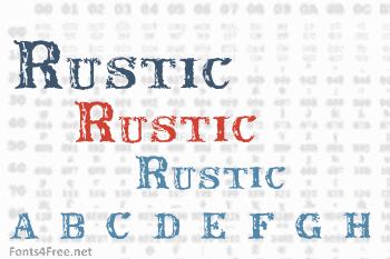 Rustic Font