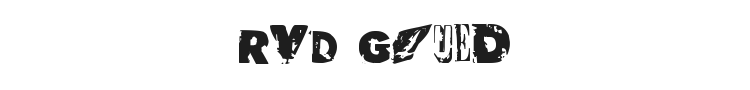 RvD Glued Font