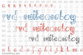 RvD Suitcaseboy Font