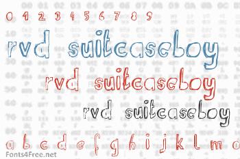 RvD Suitcaseboy Font
