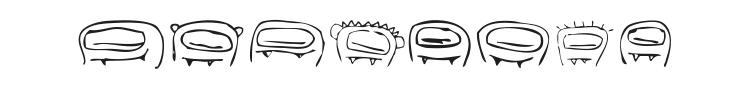 RvD Thumbsuckers Font