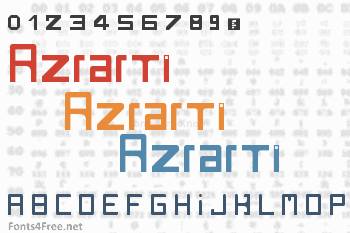 Rzrarti Font