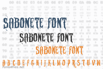 Sabonete Font
