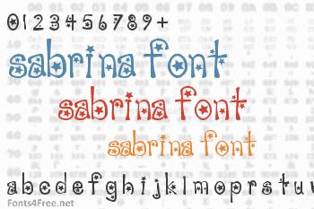 Sabrina Font