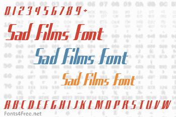 Sad Films Font