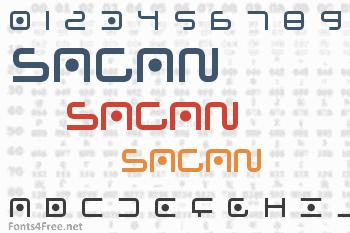 Sagan Font