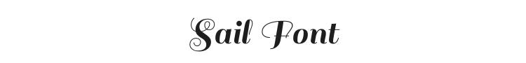 Sail Font Preview
