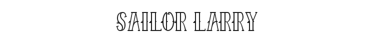 Sailor Larry Font Preview